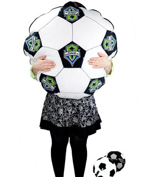 MLS Soccer Ball Floor Pillow