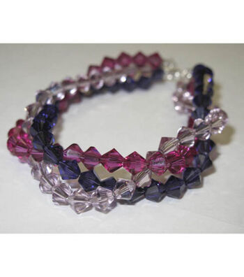 Fuschia Braid Bracelet