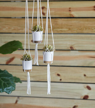 How To Make a Knotted Plant Hangers