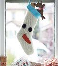 Christmas Character Snowman Stocking