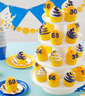 How To Make Team Spirit Cupcakes