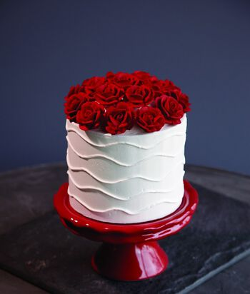 Wilton Roses Cake