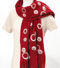 Felted Circle Scarf