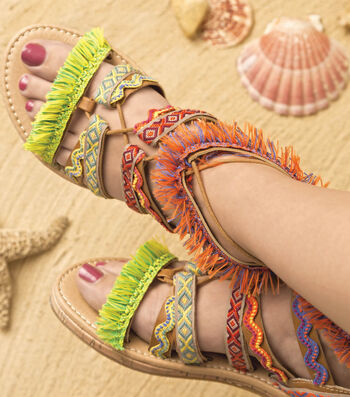 How To Make Tribal Sandals