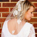 How To Make a Floral Bridal Veil