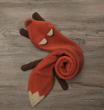 How to Sew a Fleece Fox Scarf