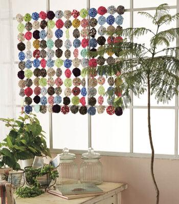 Kanzashi Yo-Yo Curtain