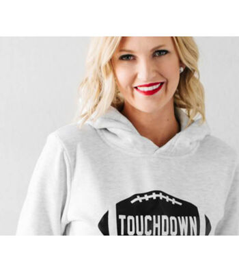 How To Make A Touchdown Sweatshirt
