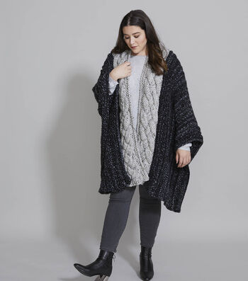How To Make a Wool-Ease Thick & Quick Cloud Cover Ruana