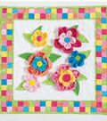Dimensional Flowers Mini Quilt