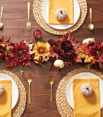 How To Make A Fall Garland