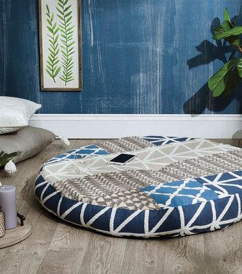 How To Make a Yoga Cushion