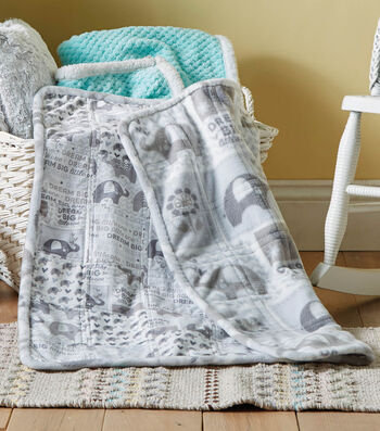 How To Sew A Fleece Baby Quilt