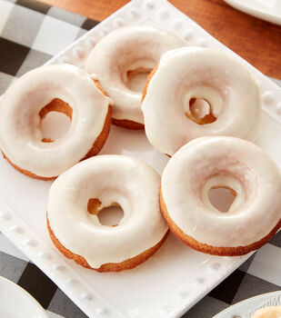 How To Make Apple Cider Baked Cake Donuts