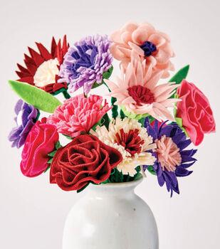 Make Felt Flower Bouquet