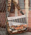 Patch Flap Messenger Bag