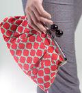 Retro Inspired Fabric Clutch