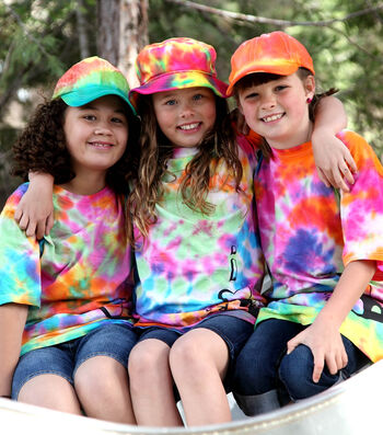 How To Make Colorful Camper Shirts & Hats