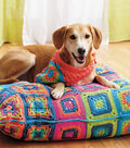 Lily Dog Bed and Bandana
