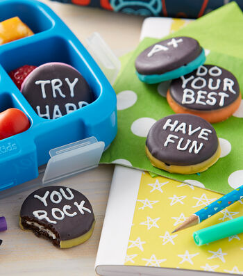 How To Make Sweet Message Sandwich Cookies