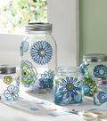 Modern Blossoms Glass Canister Set, Martha Stewart