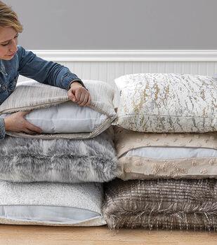 How To Make Zippered Fur Pillows