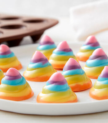 How To Make A Rosanna Pansino By Wilton Rainbow Swirl Candies