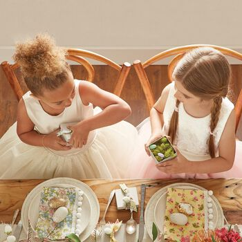 Easter Dresses and Tablescape