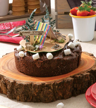How To Make an Outdoor Cake Topper
