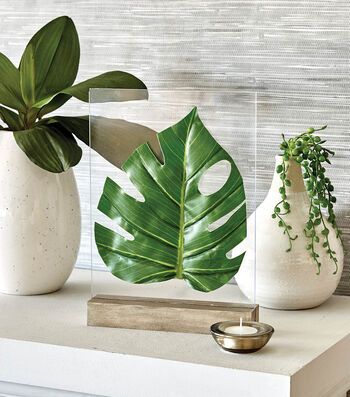 How To Make Tabletop Leaf Decor