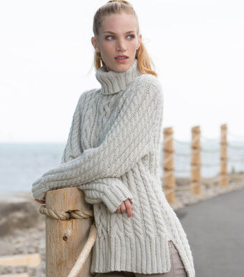 How To Make A Split Hem Cable Knit Pullover