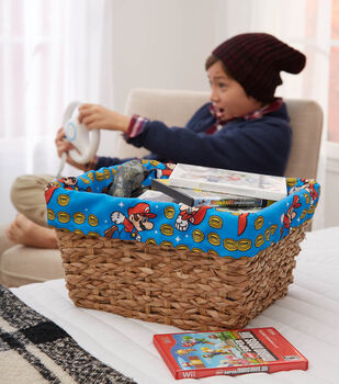 How to Make a Personalized Basket Liner