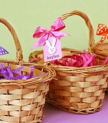 Decorated Easter Egg Hunt Basket