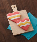 Heart Cookie with Candy Accents