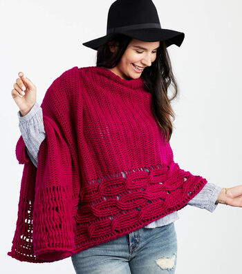 How To Crochet An Interwoven Cabled Chic Shawl