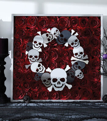 How To Make A Decay Rose Box Frame