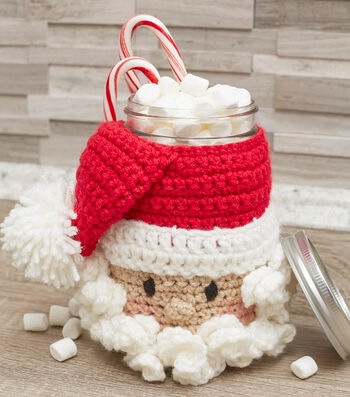 How To Make a Santa Candy Jar