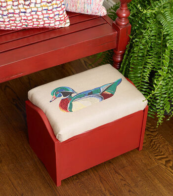 How To Make A Square By Design® Foot Stool