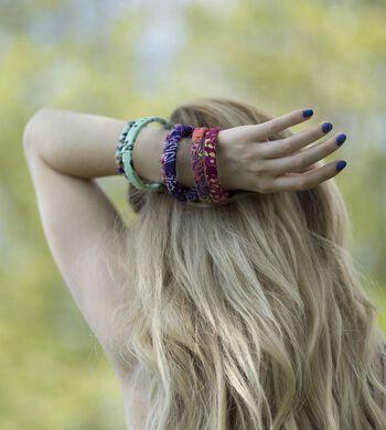 Bandana-Wrapped Bracelets