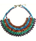 Stone Age Bib Necklace