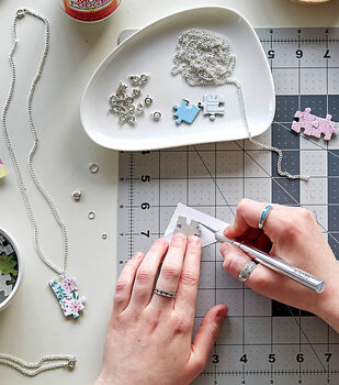How To Make Puzzle Jewelry