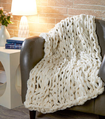 How To Make A Cloudy Cable Blanket