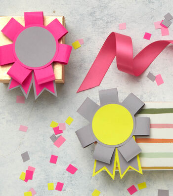 Make Paper Prize Ribbons