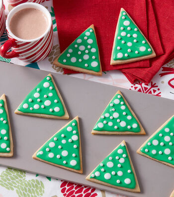 How To Make A Pop of Christmas Tree Cookies