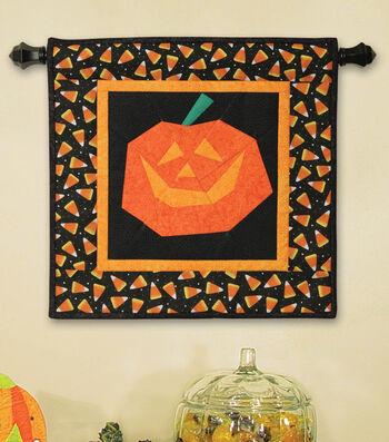 Perfect Pieced Pumpkin Wall Hanging