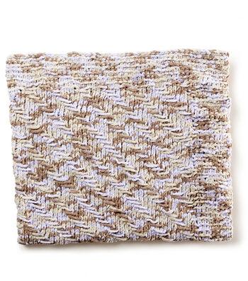How To Make A Herringbone Knit Baby Blanket
