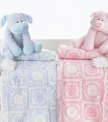 How To  Crochet a Baby Sport Dream Time Motif Blanket
