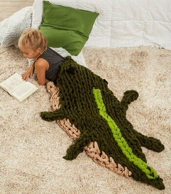 How To Make An Arm Knit Alligator
