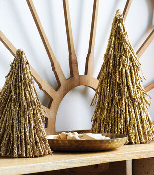 How To Make Gold Trees