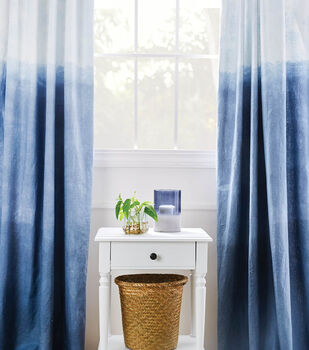 How To Make Dip Dyed Curtains
